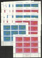 1972 Jugoslavia Yugoslavia EUROPA CEPT EUROPE 99 Serie Di 2v. In 22 Minifogli MNH** Minisheets - 1972