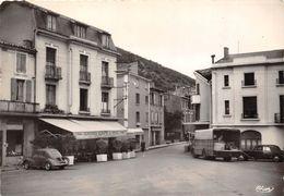 09-LAVELANET- PLACE ALBERT-GABARROU- ET ROUTE DE BELESTA - Lavelanet