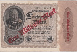 ALLEMAGNE 1922 REICHSBANKNOTE 1 MILLIARDE  MARK - [ 3] 1918-1933 : Repubblica  Di Weimar