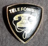DISTINTIVO A Spilla Telefonista - Esercito Italiano Incarichi - Italian Army Breast Badge - Phone Operator - Army