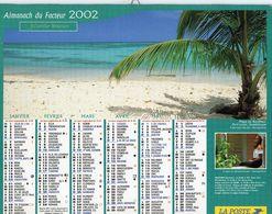 ALMANACH DU FACTEUR 2002 EDITION  CARTIER BRESSON  TOURISME NATURE - Calendars
