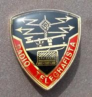 DISTINTIVO A Spilla Radio Telergrafista - Esercito Italiano Incarichi - Italian Army Badge - Wireless Operator - Army