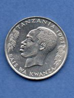 Tanzanie  --  1 Shilingi  1981 --  Km # 4  -  état SUP - Tanzania