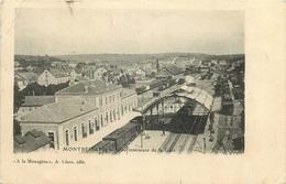 DOUBS MONTBELIARD  Vue Intérieure De La  Gare - Montbéliard