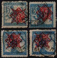 1920 SHS Yugoslavia Slovenia PORTO DUE Stamp VERIGARI Chain Breaker BAJA STARI GRAD RIMSKE TOPLICE DOLENJA HRUSICA - Unused Stamps