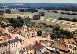 10-LUSIGNY-SUR-BARSE-  VUE AERIENNE - France
