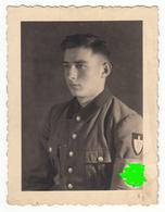 Photo Militärfoto WW2 ± 1940 Deutscher Soldat Uniform RAD  Nr. 71 - Ca. 8 X 6 Cm - Krieg, Militär