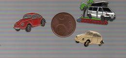 VW COMBI VAN CALIFORNIA DECAT PARIS...VW 2 COCCINELLES - Volkswagen