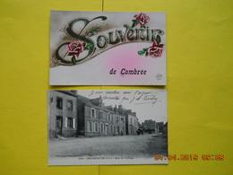 Combrée ,rue Du College ,2 Cp - France