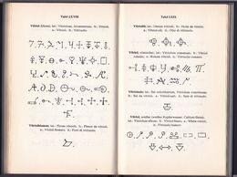 BOOK - ** DIE GEHEIMSYMBOLE DER ALCHYMIE - ARZNEIKUNDE UND ASTROLOGIE DES MIDDELALTERS ** 122 Lithogr. Tafeln - Old Books