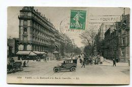 CPA   75 : PARIS   Rue De Courcelles Animée    A  VOIR   !!!! - France