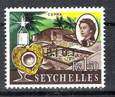 British Indian Ocean Territory 1968 Definitives 1r50 No Stop Over 'I'  MNH CV £32.00 - British Indian Ocean Territory (BIOT)