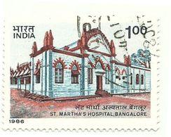 1986 - India 893 Ospedale Santa Martha C4666, - Salute