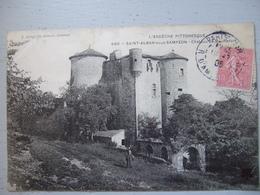 SAINT ALBAN SOUS SAMPZON / CHATEAU DE BAUMEFORT / BELLE CARTE / 1906 - France