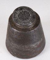 1800 SIGILLO ORDINE SAN MICHELE: S. MICHELE CI BENEDICA CON LA SS. CROCE - RARISSIMO - Bronzi
