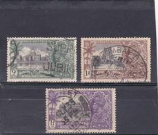 Inde Anglaise Oblitéré  N° 137/139   Jubilée De Georges V - 1911-35 Roi Georges V