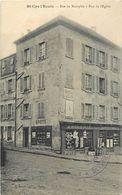 - Dpts Div.- Ref- YY602- Yvelines - Saint Cyr L Ecole - St Cyr L Ecole -rues De Neauphle Et Eglise - Epicerie - Magasin - St. Cyr L'Ecole