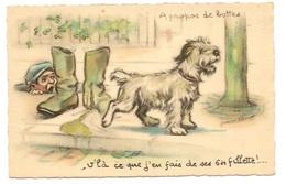 A PROPOS DES BOTTES - Bouret, Germaine