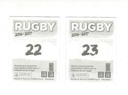 Panini Rugby 2016-2017 TOULON N° 22-23 - Panini