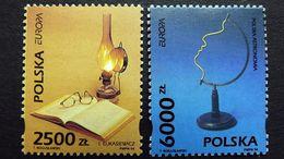 Polen 3486/7 **/mnh, EUROPA/CEPT 1994, Entdeckungen Und Erfindungen - Neufs