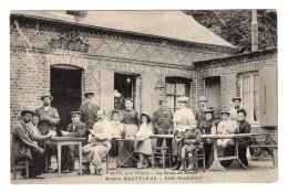 CPA   76   PUYS---AU CAMP DE CESAR---MAISON BOUTELEUX---CAFE RESTAURANT--TRES ANIMEE - Other Municipalities