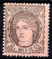 España Nº 103 Con Charnela - 1850-68 Royaume: Isabelle II