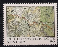 2014  Austria Österreich    Mi. 3160 **MNH Der Fußacher Bote - 1945-.... 2a Repubblica