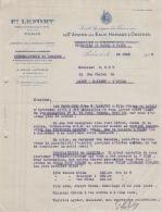 75 19 307 PARIS SEINE 1935 Faienceries SAINT AMAND LES EAUX HAMAGE ORCHIES F. LEFORT Faiencerie LESQUIN FRACHON MIELLE - France