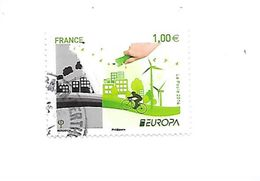 Europa L'Ecologie En Europe 5046 Oblitéré 2016 - France