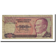 Billet, Turquie, 100 Lira, 1984, KM:194b, B+ - Turchia
