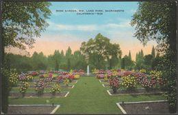 Rose Garden, William Land Park, Sacramento, California, C.1940 - Spangler Postcard - Other