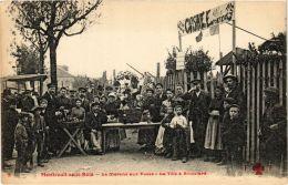CPA MONTREUIL-sous-BOIS Le Marché Aux Puces La Tole A Binoelard F. Fleury (673100) - Montreuil