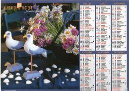 ALMANACH DU FACTEUR 2006 EDITION  CARTIER BRESSON   FLEURS OISEAUX - Calendars