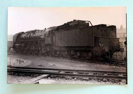 1Cliché Photo Locomotive 241A90 Dépot De Noisy Le Sec 1955 - Trains