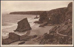 Bedruthan Steps, Near Newquay, Cornwall, C.1930s - Postcard - England