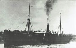 Steam Ship Photo SS Spezia Unknown Operator? - Boats