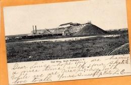 Coal Mine South McAlester IT 1907 Postcard - Verenigde Staten
