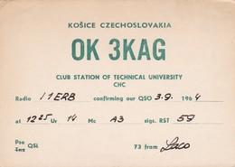 CARTOLINA - POSTCARD - SLOVACCHIA - RADIO AMATORI KOSICE - Slovacchia