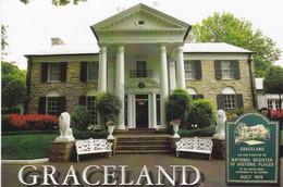 Postcard Graceland Memphis Home Of Elvis Presley My Ref  B22536 - Memphis