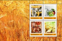 ÖSTERREICH 2014 ** Schnaps, Schnapsbrennerei - PM Personalized Stamps - Block MNH - Wein & Alkohol