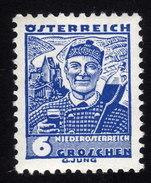 ÖSTERREICH 1934 ** Wein, Winzer Aus Der Wachau Mit Zugheber - MNH - Wein & Alkohol