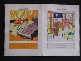 RARE !! ** NUANCES ( Dorin René ) - Illustrations Touchet Sur Toutes Les Pages - Exempl. Numér. Sur Velin De Cuve N° 741 - Livres, BD, Revues