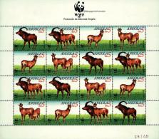 Ref. 12637 * NEW *  - ANGOLA . 1990. GIANT SABLE ANTELOPE. ANTILOPE SABLE - Angola