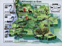 Ref. 272169 * NEW *  - ANGOLA . 1998. FIRST ANNIVERSARY OF GURN. PRIMER ANIVERSARIO DE GURN - Angola