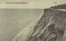 BASARABIA : STATIUNEA BALNEARA BUDACHI [ DACIA / BUDACHI-CORDON ] - PLAJA - ANNÉE / YEAR ~ 1920 - 1925 (ab619) - Ukraine
