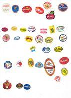 Etiquettes Fruits : Grenades - Kakis - Avocats -mangues  - Fruit Labels Pomegranatas - Kakis - Avocados -mangoes Lot # 1 - Fruits & Vegetables