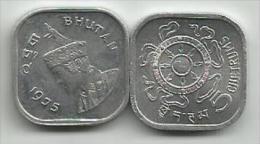 Bhutan 5 Chetrums 1975. UNC - Bhutan