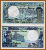 New Hebridas 500 Francs 1970 Pick 19 UNC - Banknotes