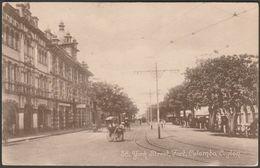 York Street, Fort, Colombo, Ceylon, C.1910 - John & Co Postcard - Sri Lanka (Ceylon)
