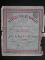 RUSSIE - Action De Capital De 1897 BRUXELLES - TRAMWAYS D'IEKATERINOSLAW - Russie